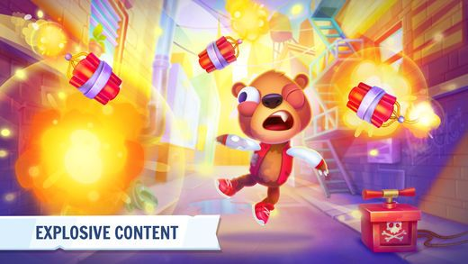 Despicable Bear Top Beat Action Game on the App Store