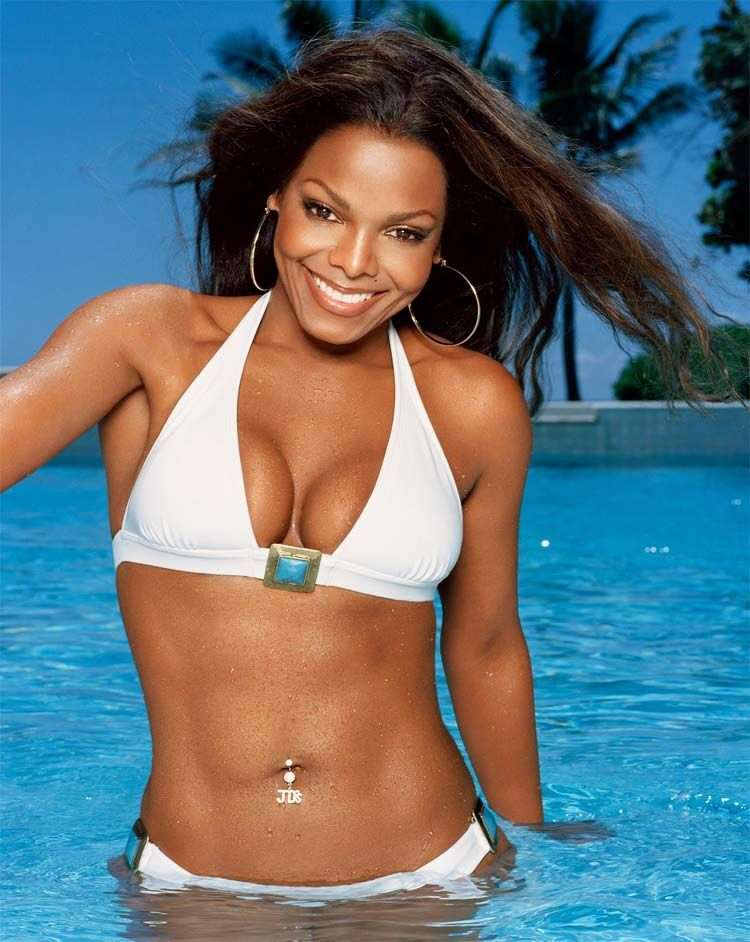 Janet Jackson Bikini