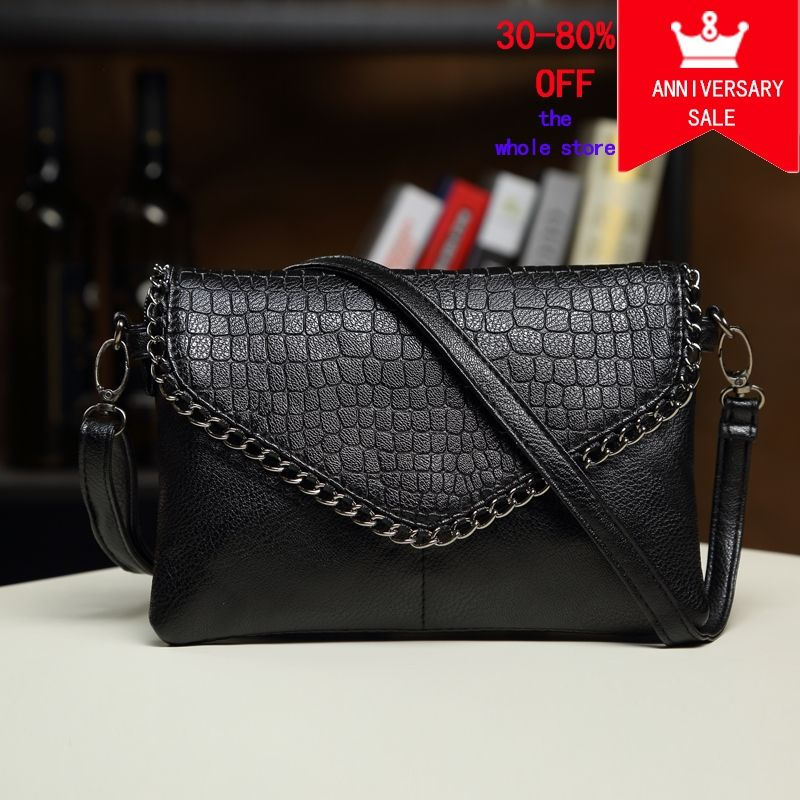 day clutches women bags female shoulder bags leather handbag black purses  crossbody bags for women Envelope girl ladies hand bag Price  19.94   FREE  ... 04fc3b365a406