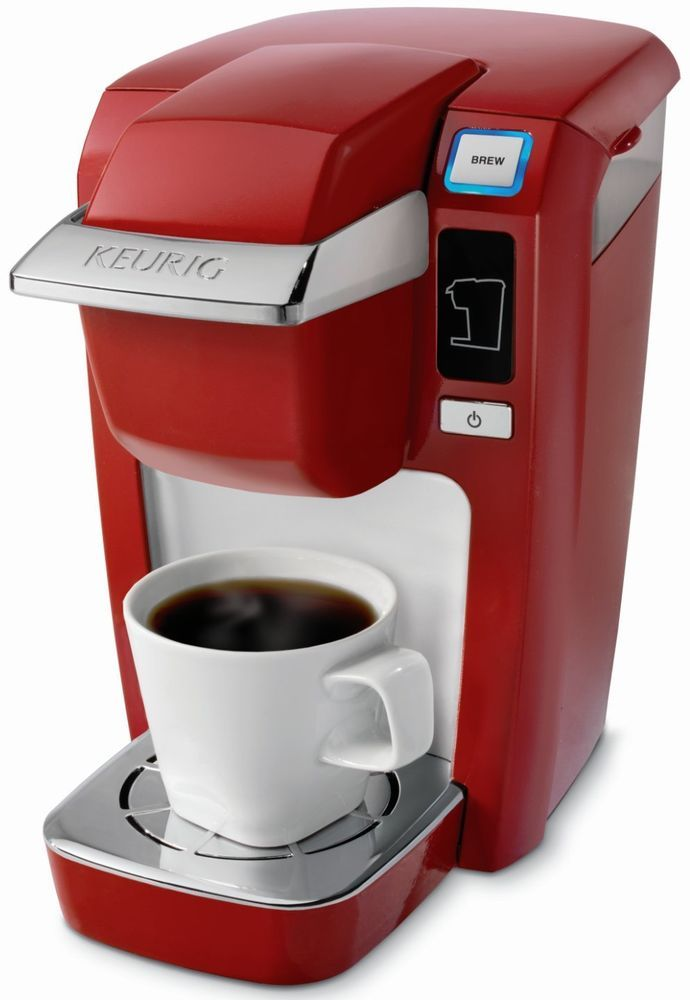 Gift For Her Red Single Serve K Cup Coffee Maker Personal Brewer B31