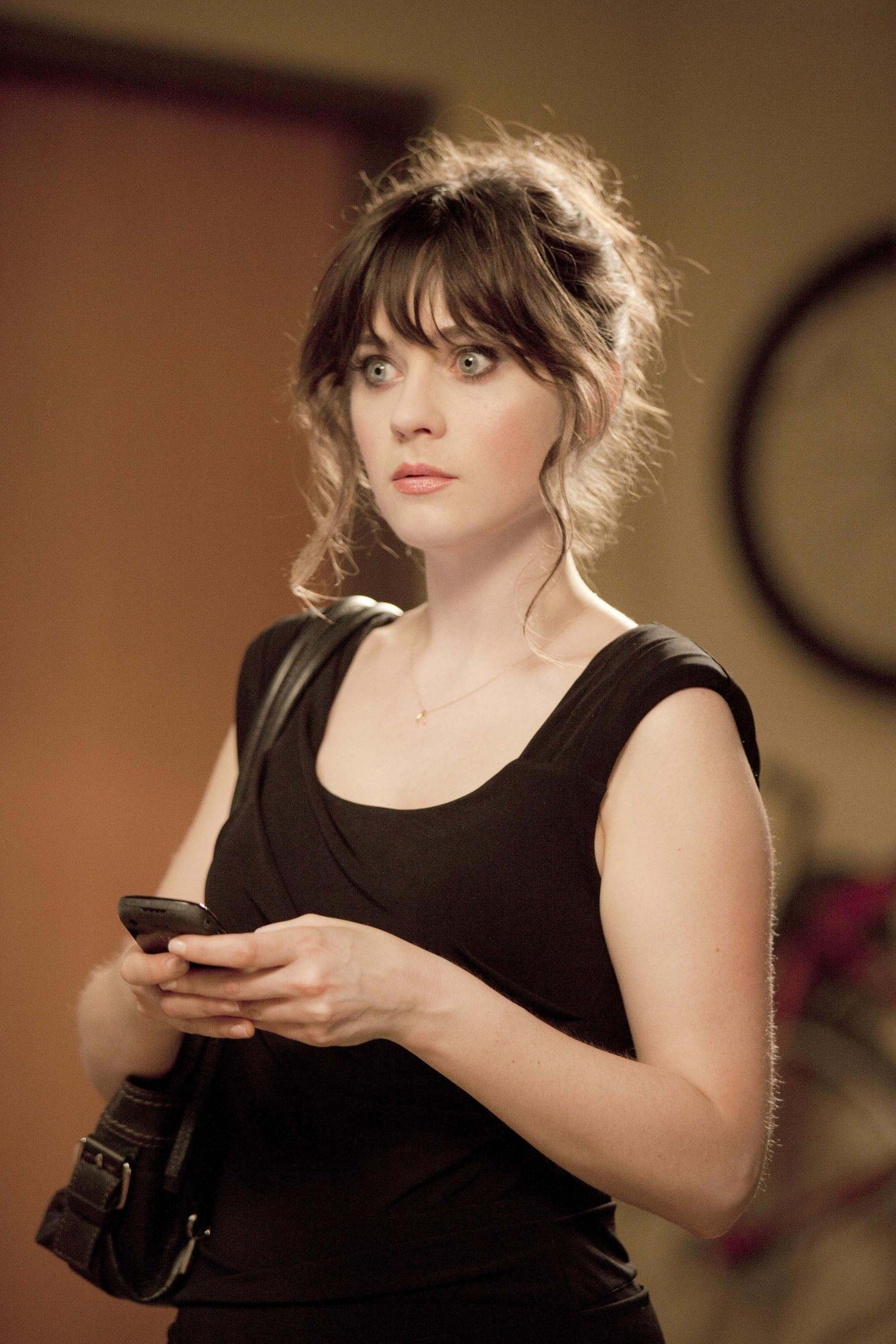 Zooey In The New Girl Zooey Deschanel Hair Zooey Deschanel