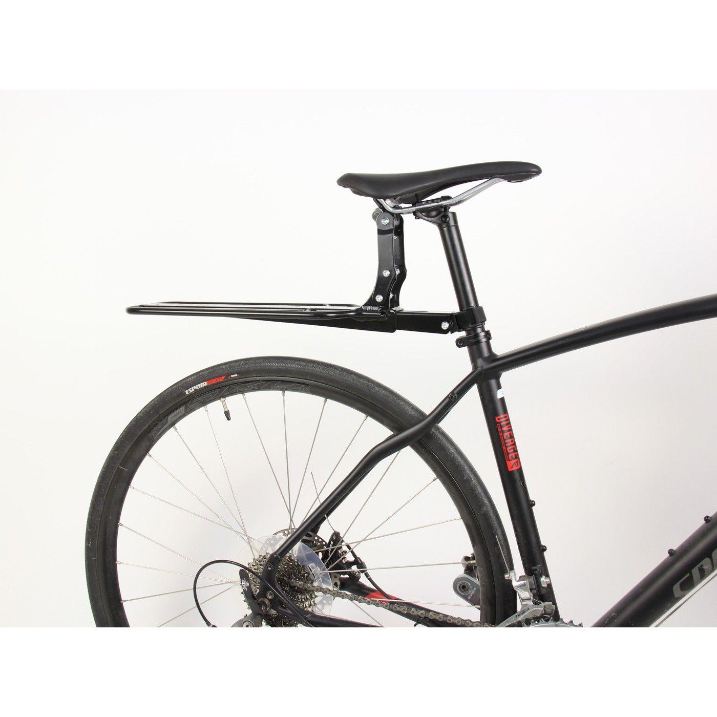 Arkel Randonneur Rack Seat Post Rack Carbon Seat Post Friendly Diy Bike Rack Bicycle Freestanding Bike Rack