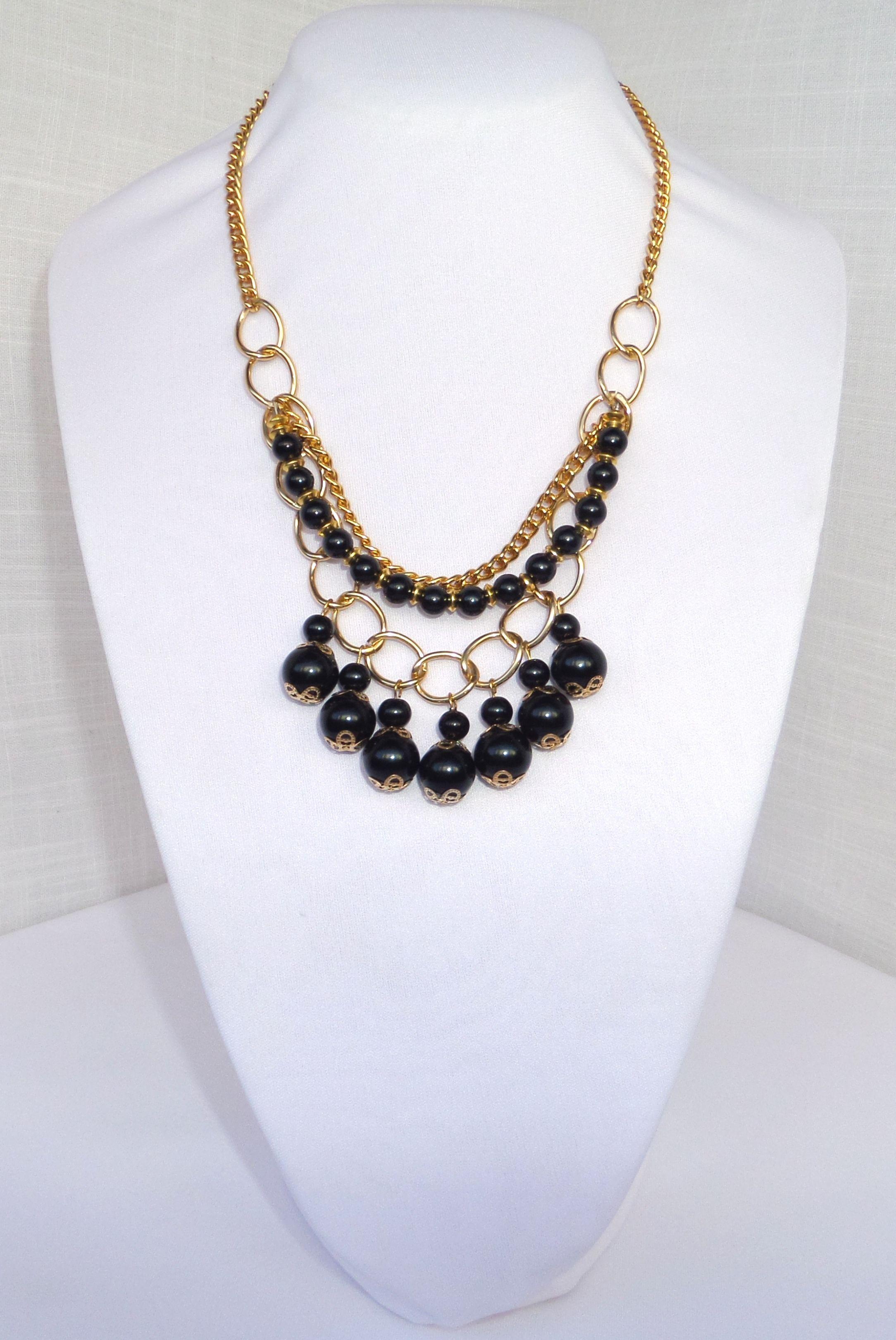 COLLAR DE PERLAS DE CRISTAL - Collares y accesorios para dama - URQHER 765b30734bb7