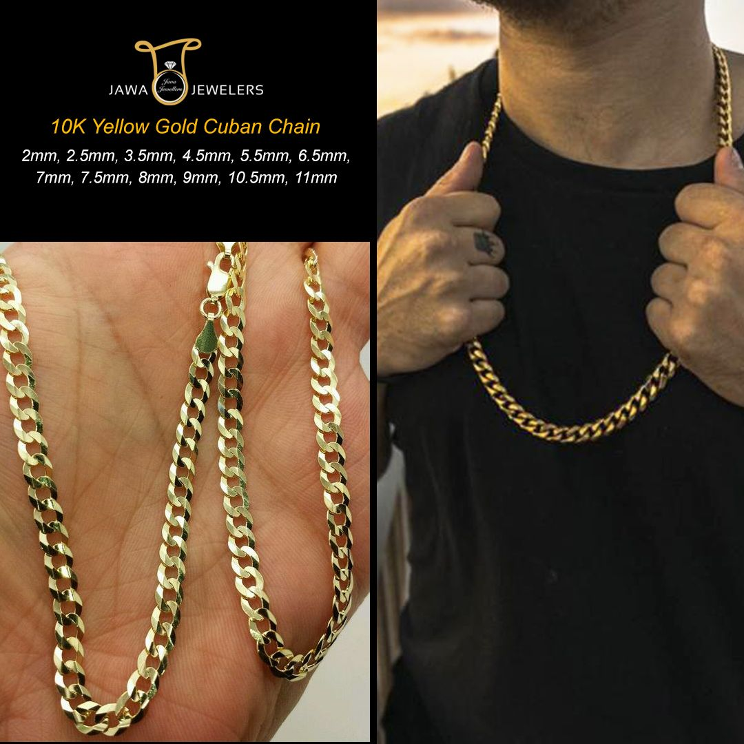 2mm To 11mm Cuban Link Miami Cuban Link Chains Cuban Link Chain Cuban Chain Chain