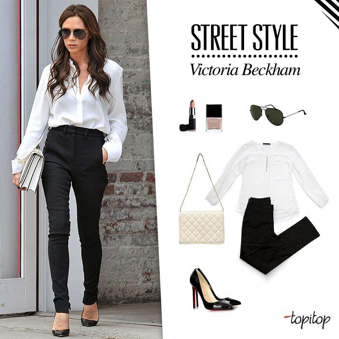 Empieza el año con actitud! Inspírate en el look de nuestra fashionista de la semana: Victoria Beckham. Me encanta!!! <3