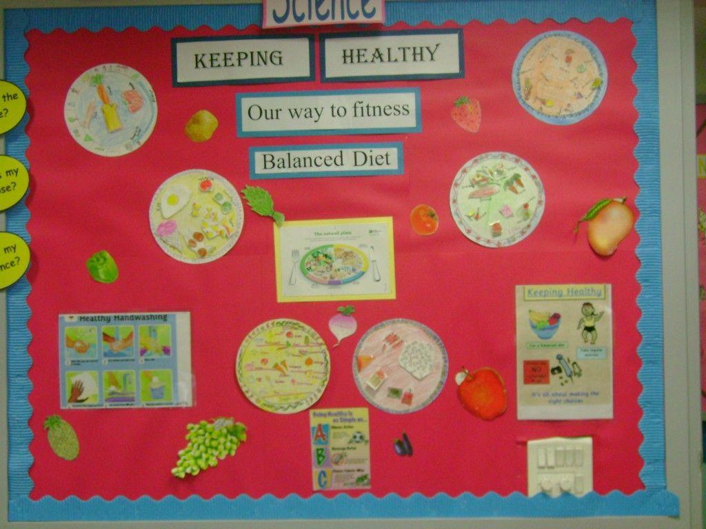 Healthy food bulletin board ideas keeping healthy