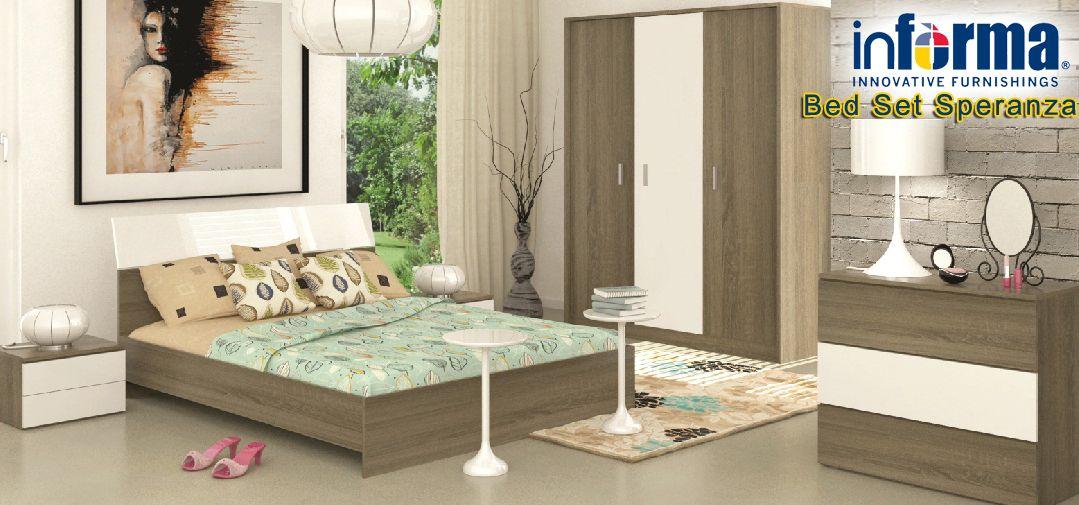 Speranza bed set | informa.co.id | Informa Bedrooms | Pinterest ...