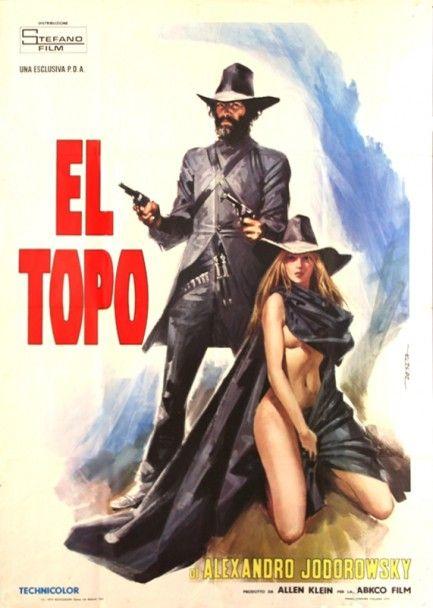 """""""El Topo"""" film by Alejandro Jodorowsky (Mexico, 1970)"""