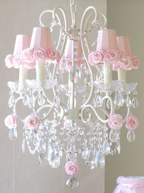 incredible Chandelier Teenage Bedroom Part - 10: rosecottage.quenalbertini: Roses Chandelier