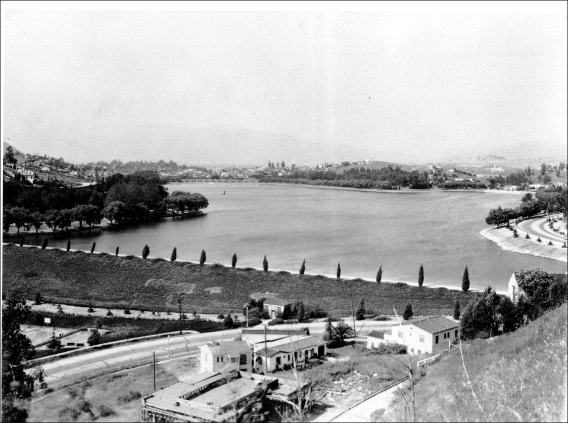 LOS ANGELES / SILVER LAKE:  Silverlake...   back in the day...