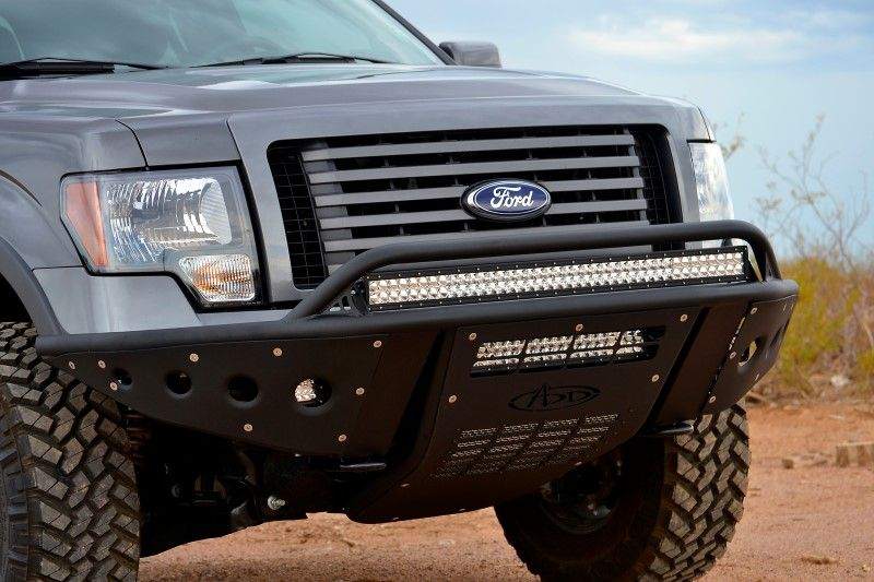 2009 2014 F 150 Stealth Winch Front Bumper Truck Bumpers Ford