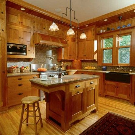 cabinets period & revival | craftsman kitchen, craftsman and