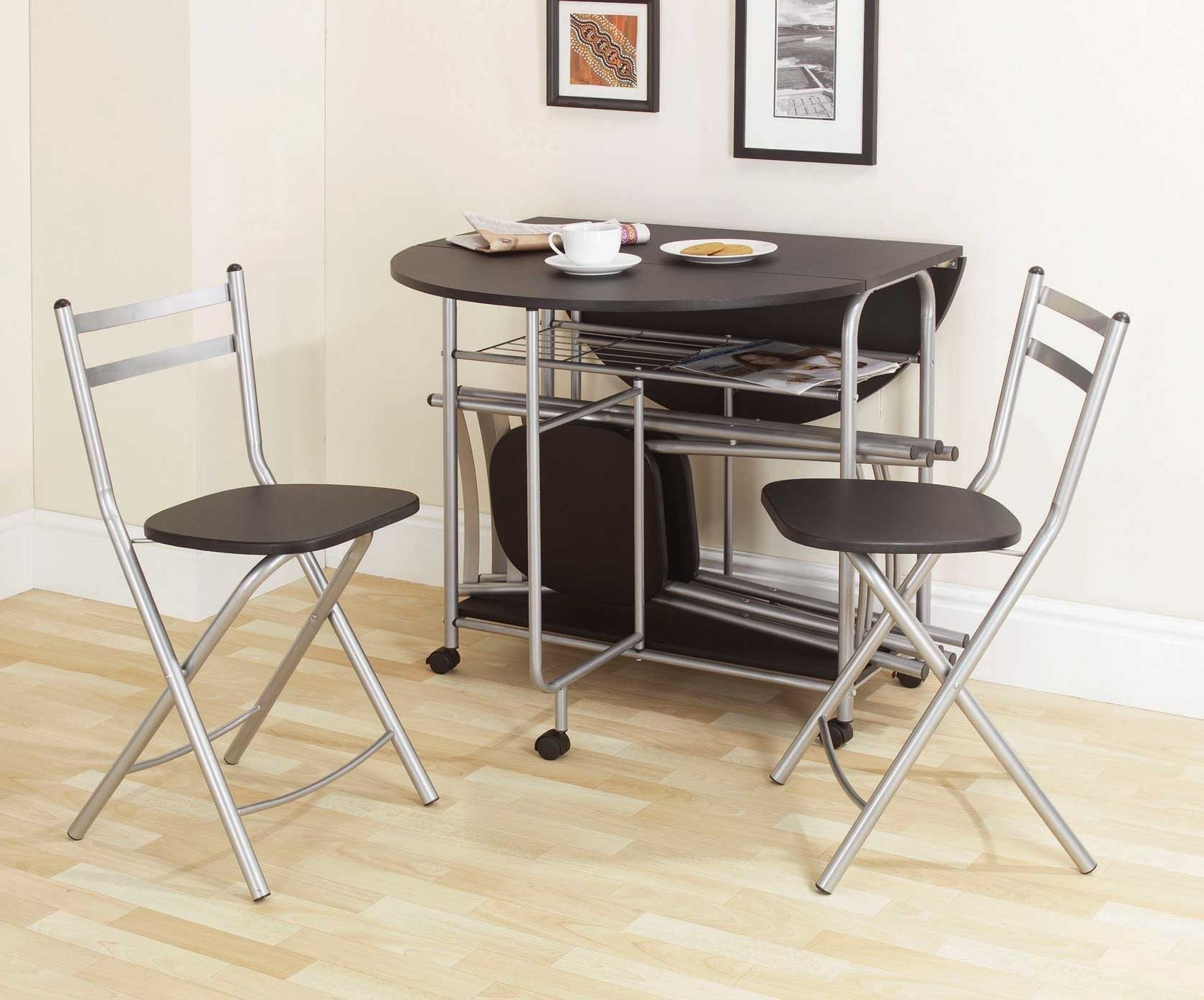 Drop Leaf Table And Folding Chairs Argos