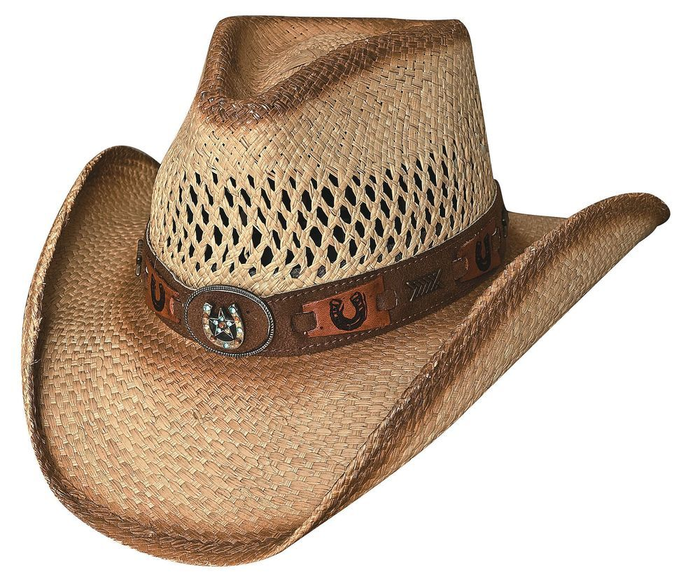 Bullhide Lucky Strike Panama Straw Cowgirl Hat  46836c5336f5