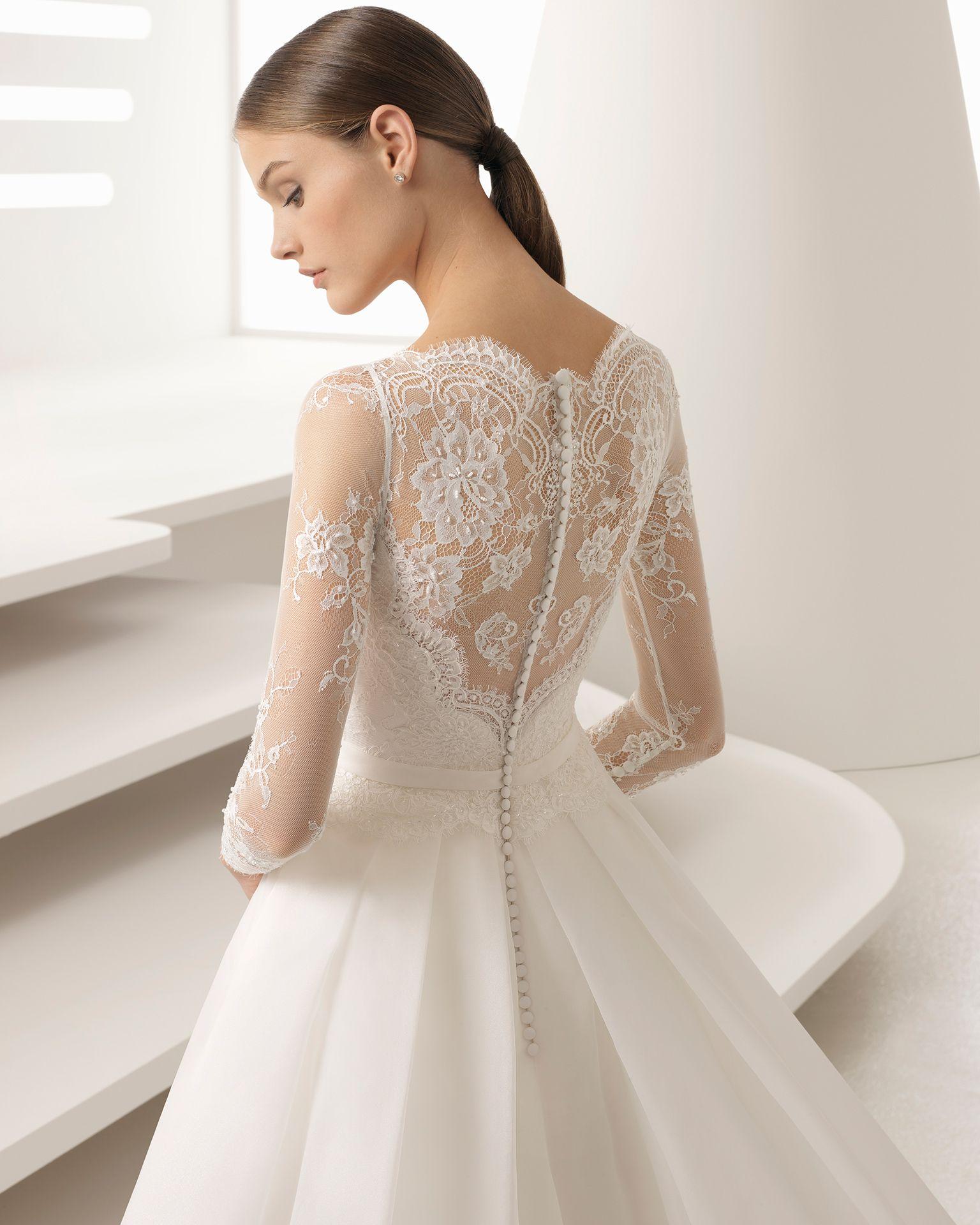 ANTIFAZ - Novia 2018. Colección Rosa Clará | Wedding dress, Wedding ...