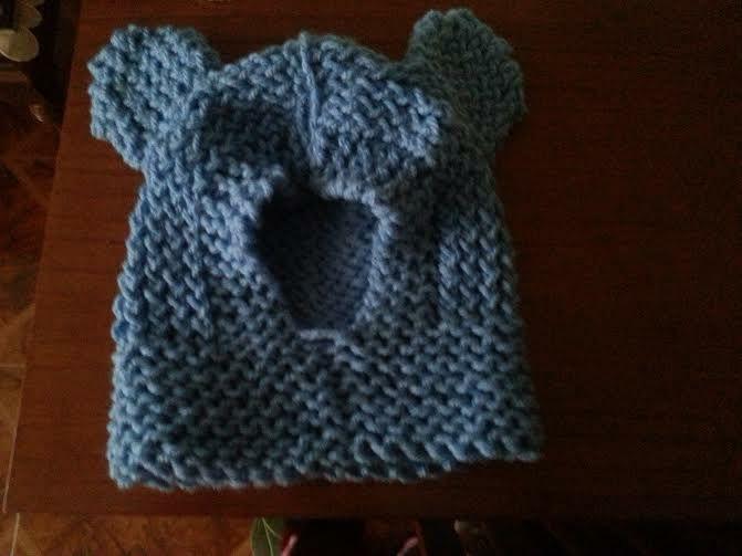 Capucha de osito tejida en telar por Lore B. | Subscribers Creations ...