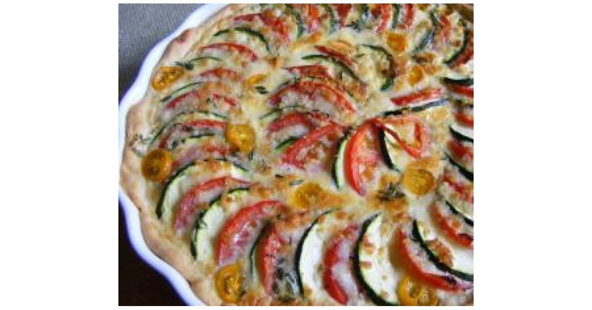 Zucchini quiche rezept thermomix