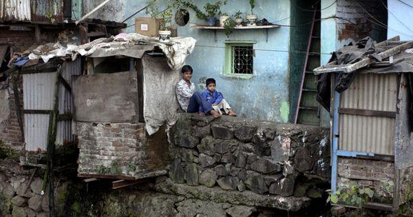 Dharavi . Asias largest slum
