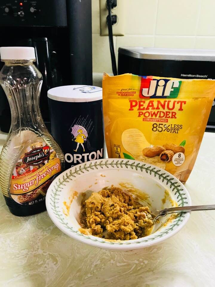Favorite peanut butter 2sp for all 3 tablespoon jif