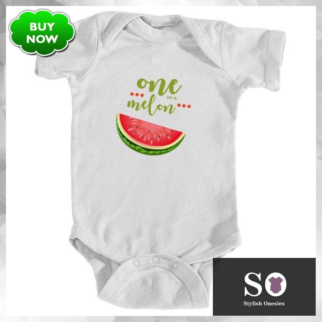 a0c3ce6d5 One in a melon onesie #onesie #babyclothes #babiesofig #stylishonesies #baby