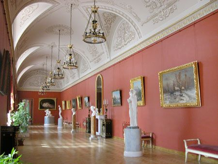 The Antique Hall at the Yusupov Palace