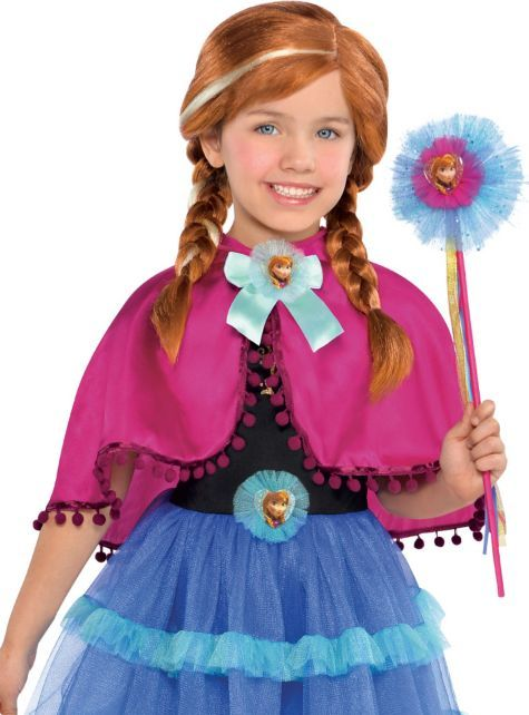 anna cape capes robes shop all categories costume accessories halloween costumes - All Halloween Costumes Party City