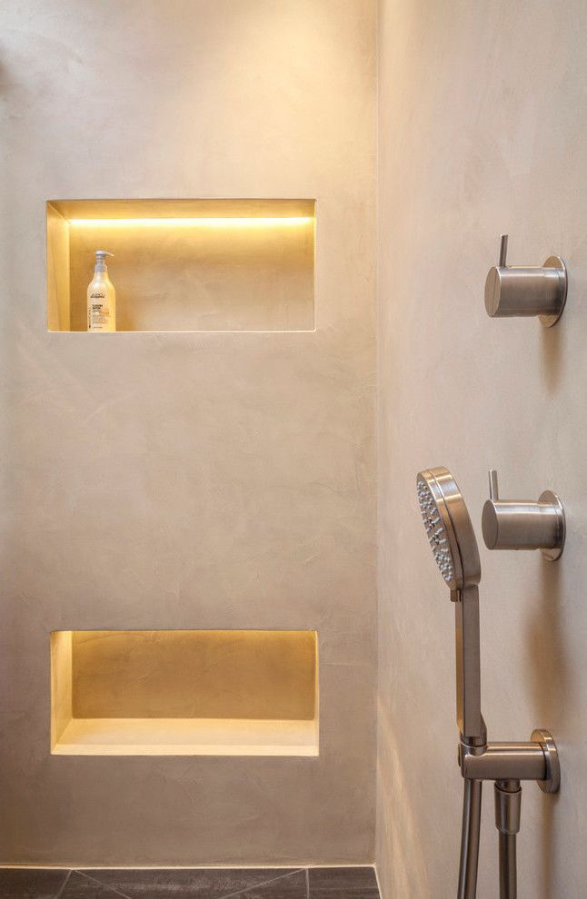 A seamless bathroom gives your apartment the finishing touch! - House decoration more, #bathroom #the #a #home decoration #your #last #more #seamless #brush #gives # apartment