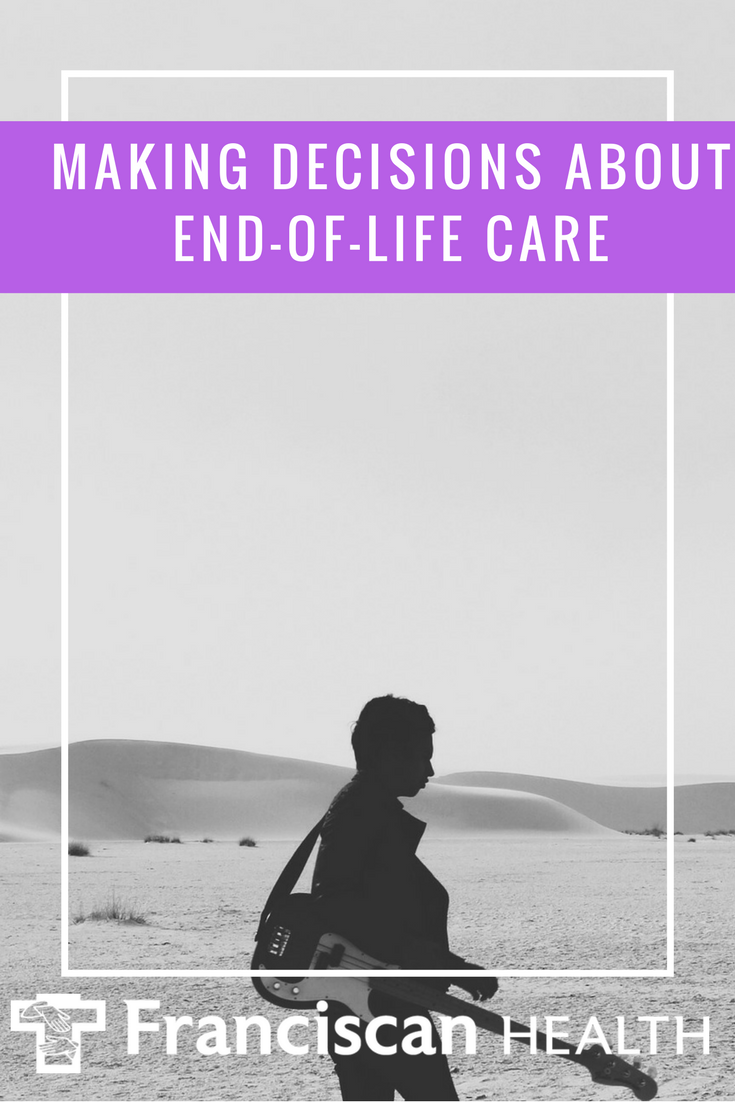 """""""Planning your endoflife care is important because it"""