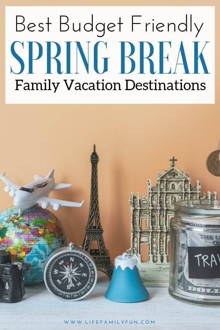 With some planning, it's possible to plan the perfect Spring Break family vacation on budget. There are plenty of options just waiting for you to explore! #SpringBreak #BudgetVacation #spring break words Best Budget Friendly Spring Break Family Vacation Destinations #Spring Break Florida