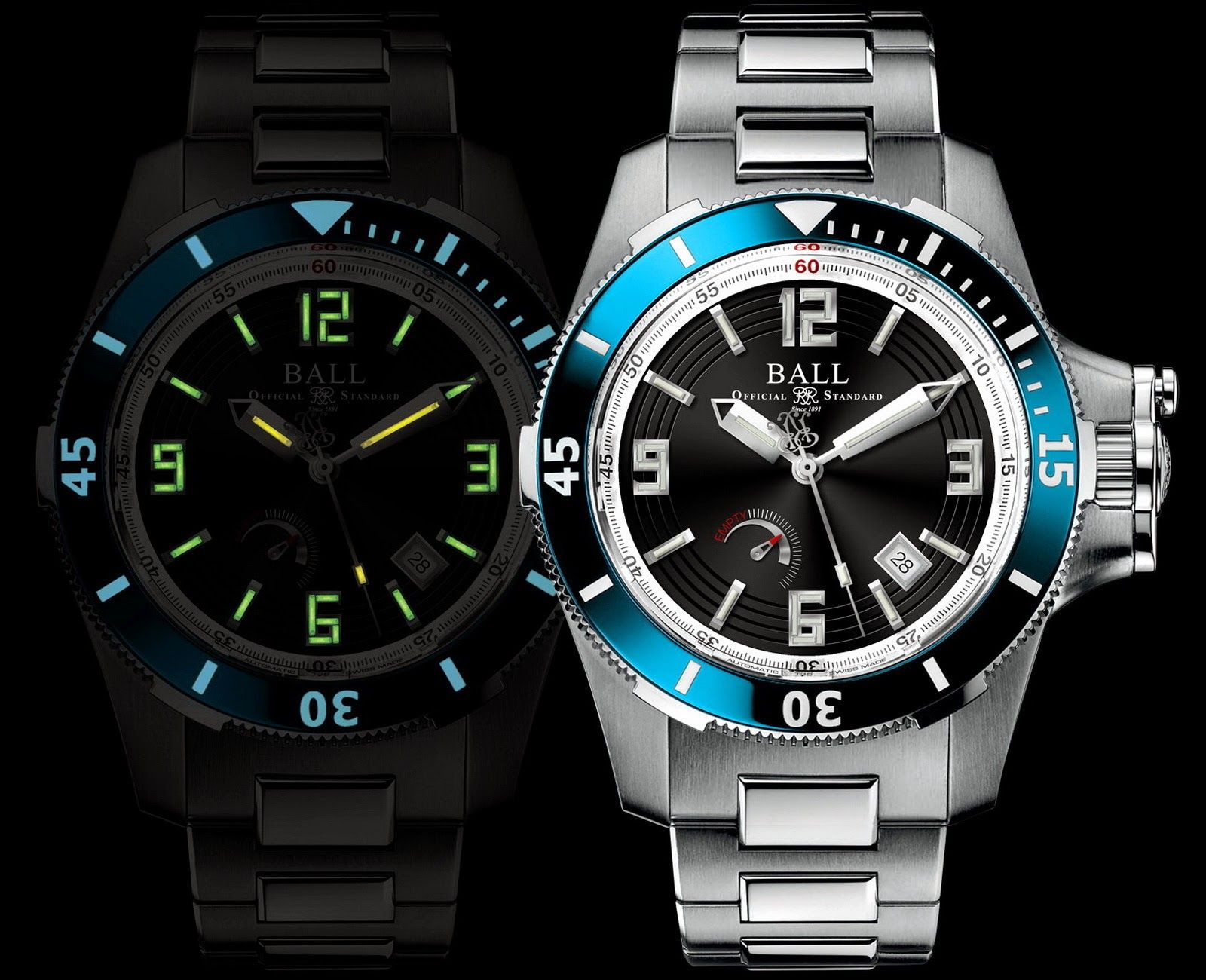 Ball watch engineer hydrocarbon hunley diving watches pinterest watch blog and diving watch for Ball watches