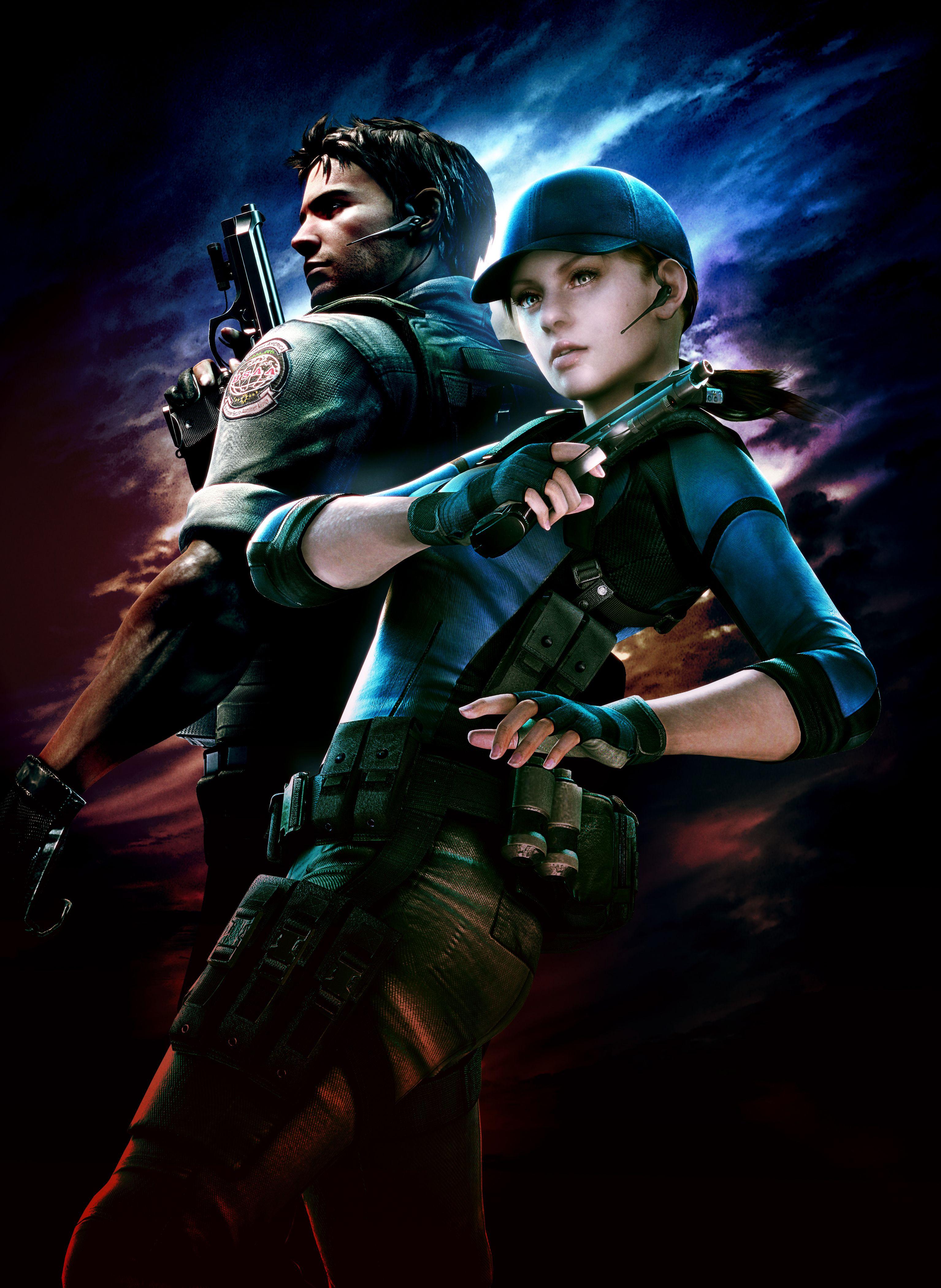 Chris Redfield Jill Valentine Resident Evil Resident Evil