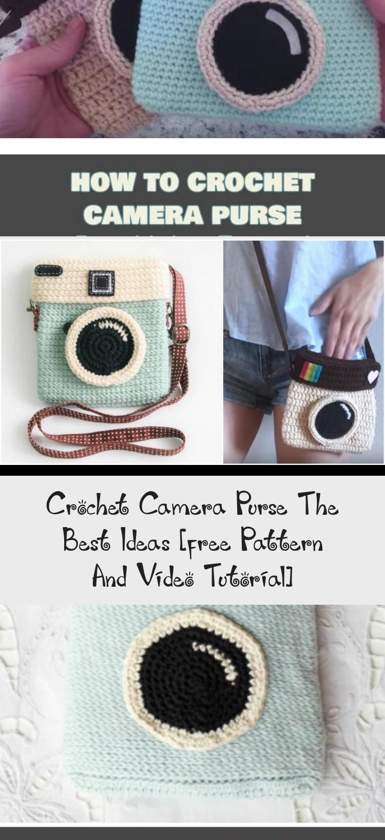 Crochet Camera Purse The Best Ideas [free Pattern And Video Tutorial] - crochetthat #camerapurse Crochet Camera Purse The Best Ideas, Free Crochet Pattern and Video Tutorial #crochetEarrings #crochetSlippers #crochetBracelet #crochetAmigurumi #crochetDishcloth #crochetcamera