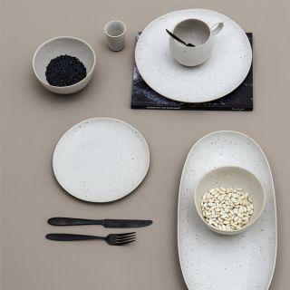 Skandinavisches Porzellan geschirr sandrine in weiß bloomingville nordliebe com küche