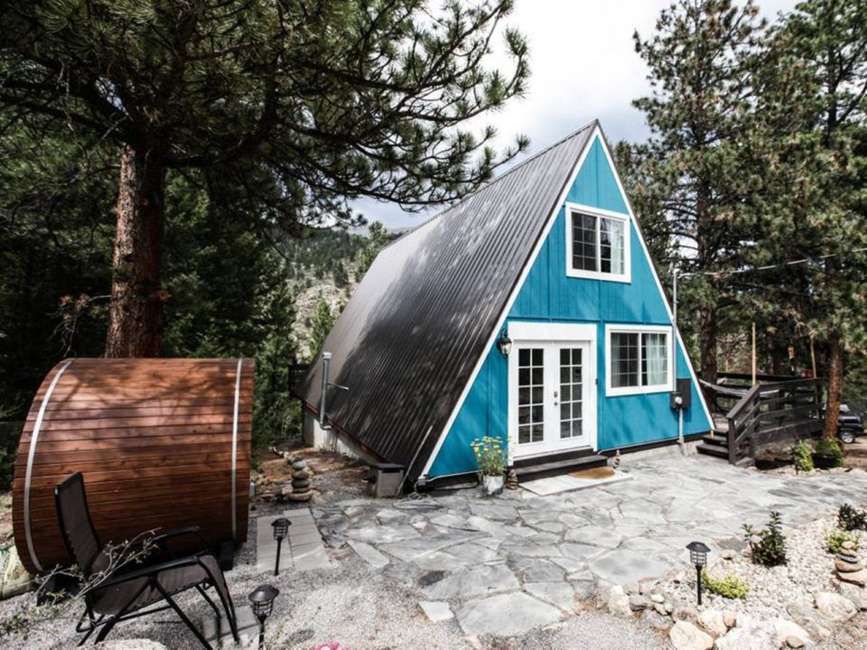 9 Of Colorado S Coolest Ready To Book Airbnb Homes A Frame Cabin Cabin Hot Tub Outdoor