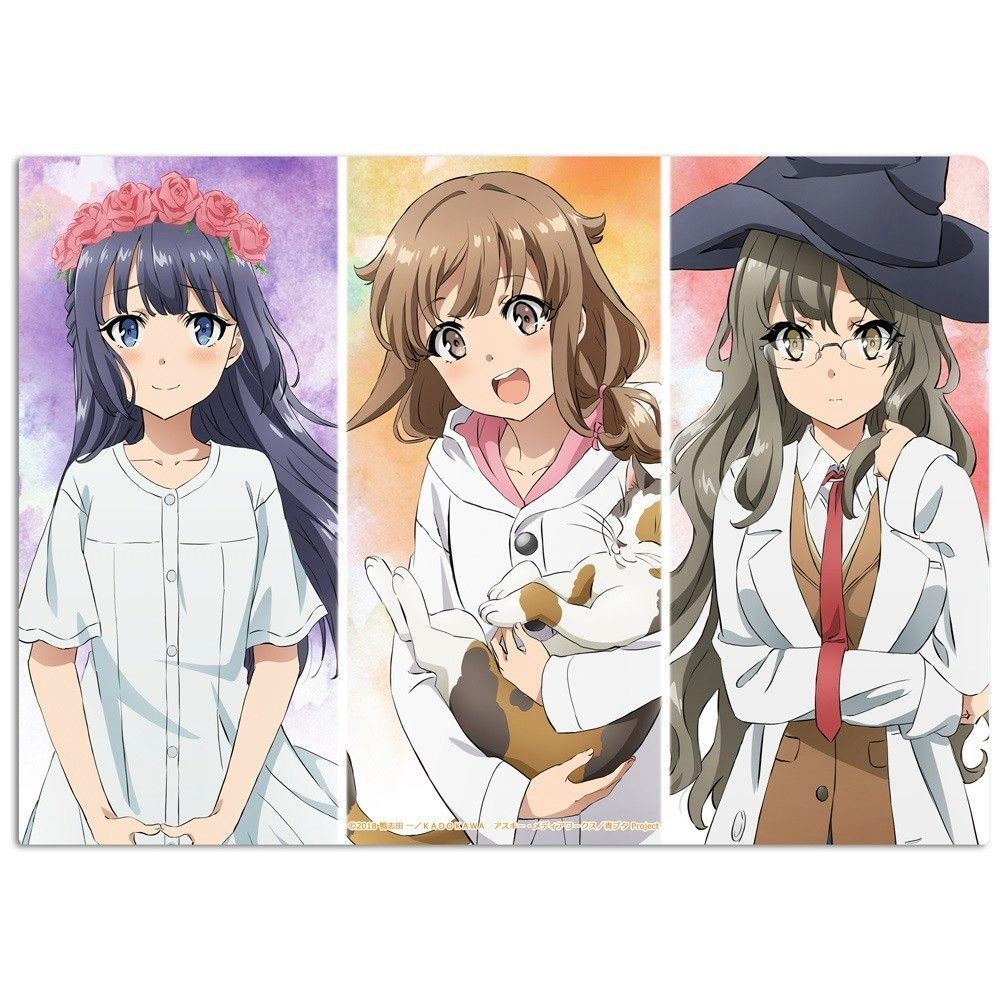 Azusagawa Kaede Seishun Buta Yarou Series Anime Wallpaper Anime Anime Wallpaper Bunny Girl