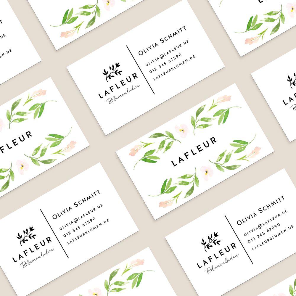 Logo Businesscard Visitenkarte Visitenkarten Erstellen