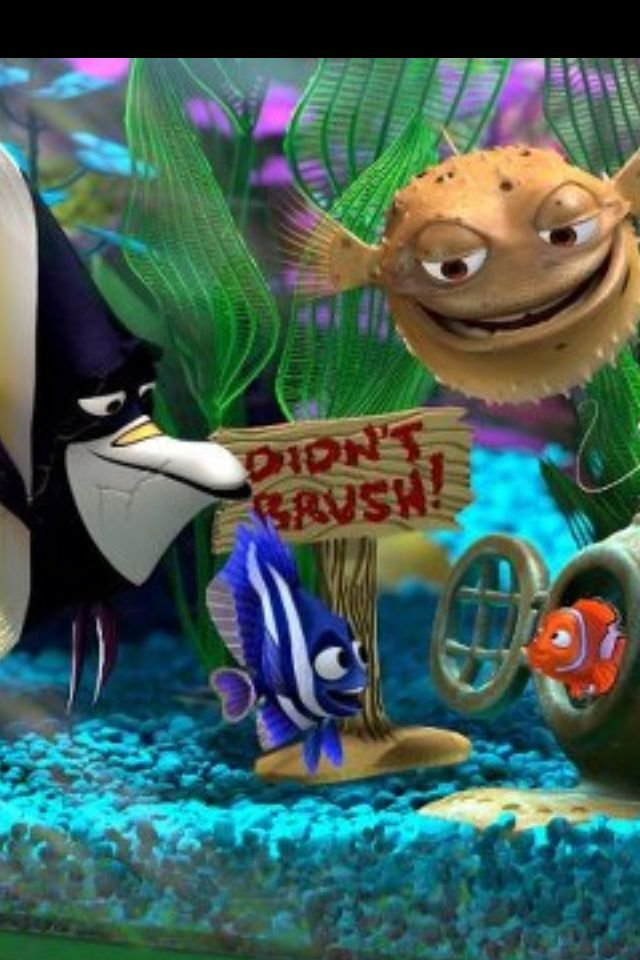 *GILL, BLOAT ~ Finding Nemo, 2003 | Surf & Turf ...