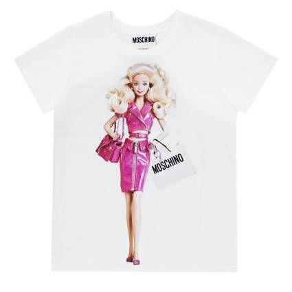 T-shirt donna Moschino mezza manica stampata capsule collection, MOSCHINO 0703 4140. T-shirt Moschino in vendita online su Giglio.com  #moschino #moschinobarbie #jeremyscott #barbietshirt #fashion