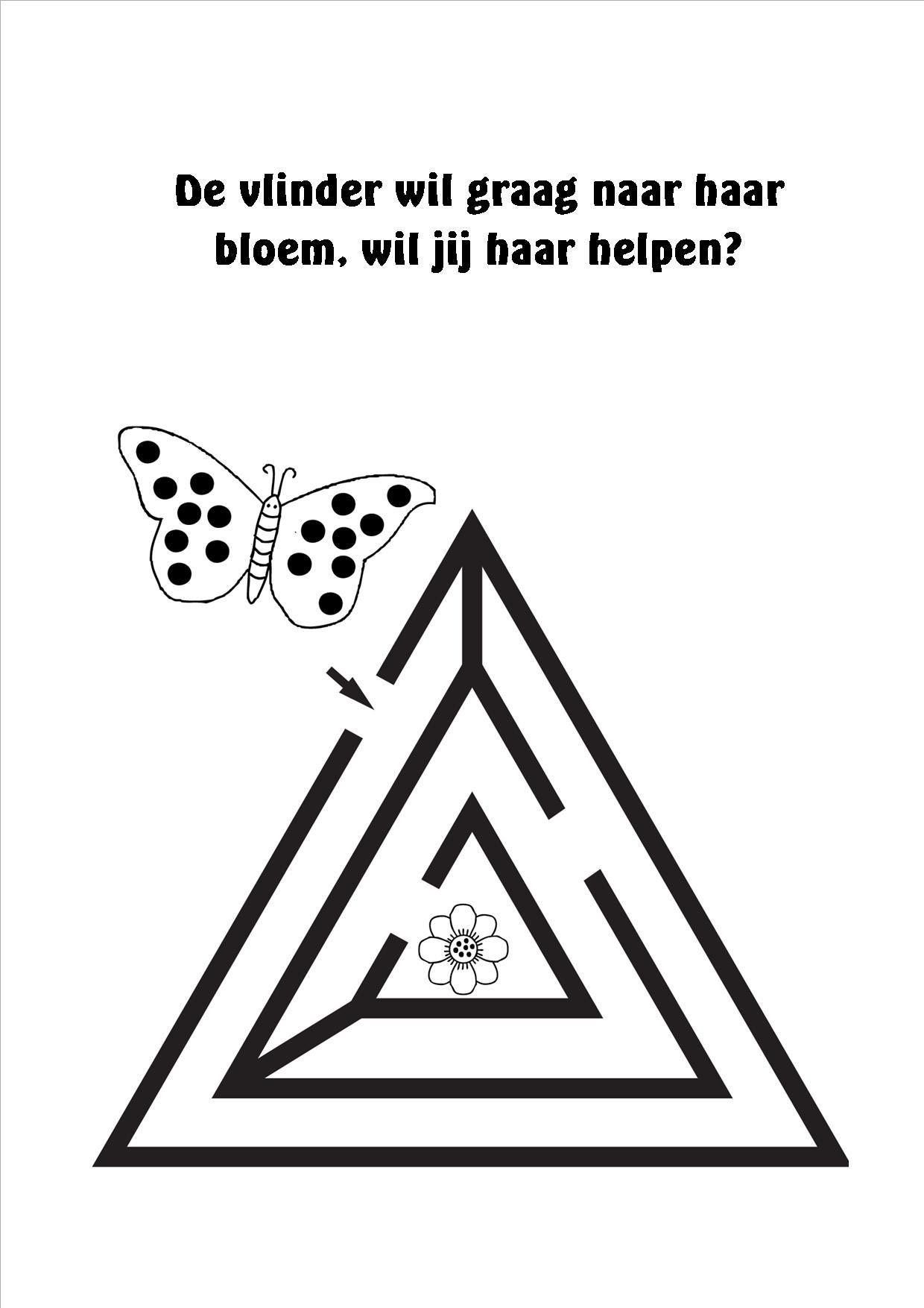 Boekje Rekenen Doolhoven 9