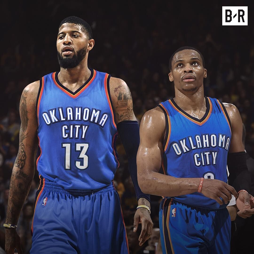 f0376151e60 Paul George   Russell Westbrook OKC Oklahoma City Thunder