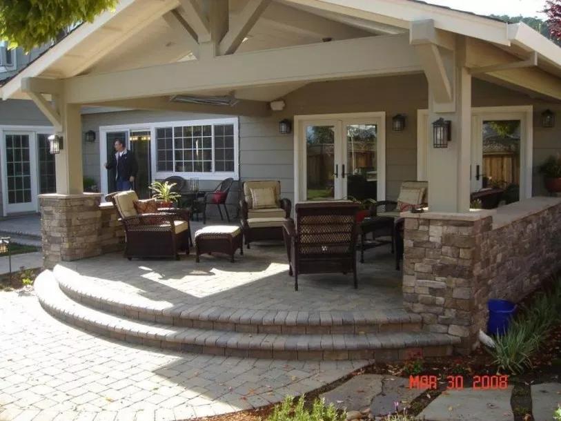 35 Inspiring Backyard Porch Ideas To Modify Your Ordinary Garden Trendehouse Backyard Patio Backyard Porch Patio Design