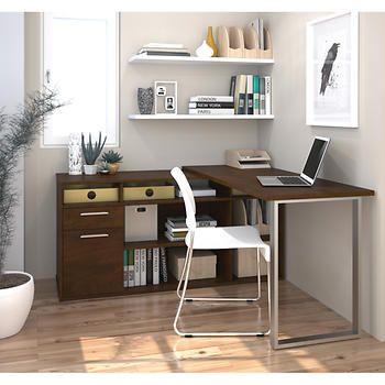 Solay L-Shaped Desk Office Refresh Pinterest Desks and Dream