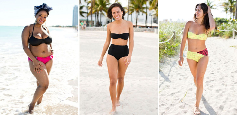 bikini shape flattering