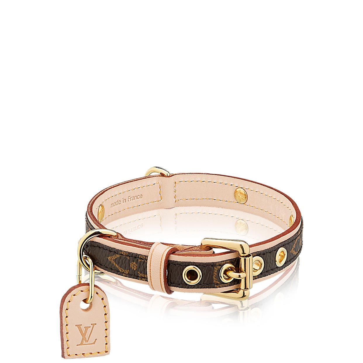 ab3848bd5fcb Baxter Dog Collar PM Monogram Canvas in WOMEN s TRAVEL collections by Louis  Vuitton