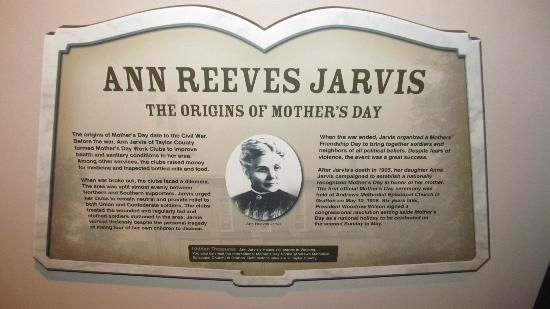 Ann Reeves Jarvis The Mother of Mothers Day Celebrations http://www.greetings2k15.com #mothersday2015 #history #origin #annreevesjarvis