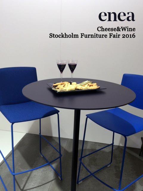 [es] ¿Queréis ver cómo lucen nuestras Lottus y EMA en una de las ferias más importantes de Europa? Esta semana nos hemos trasladado a la Feria del Mueble de Estocolmo para presentar nuestras novedades.  [en] Do you want to see how our Lotus and EMA look in one of the most important shows in Europe? This week we have moved no the Stockholm Furniture Fair to present our new products.  #Stockholm #Estocolmo #SFF16 #EneaDesign #Lottus #EMA #contract #hospitality