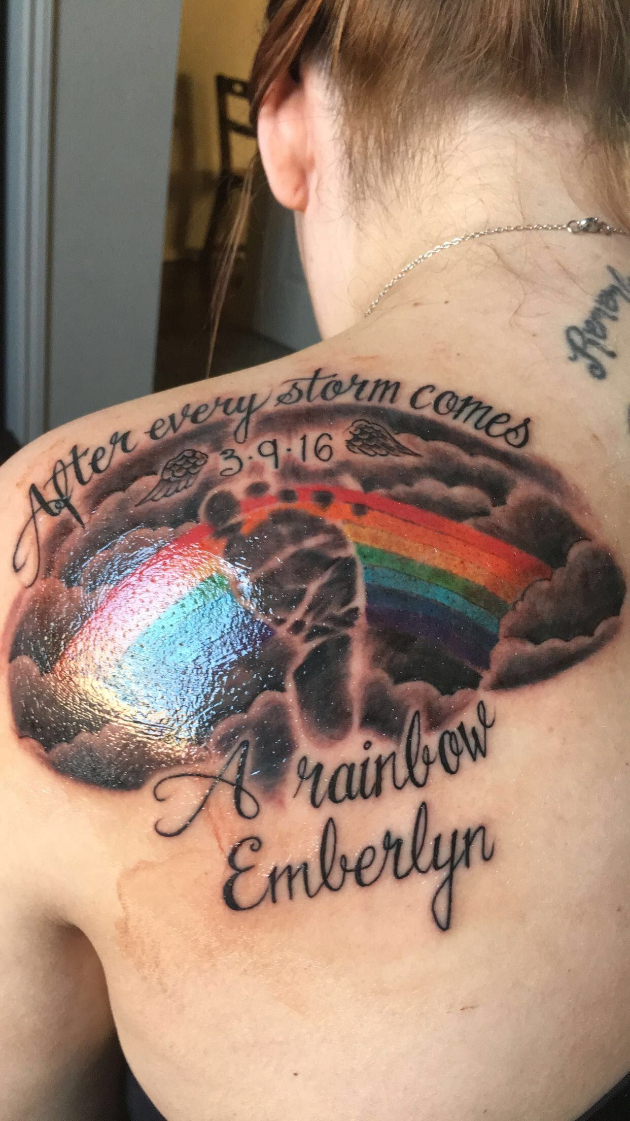 30 Meaningful Tattoos That Memorialize Miscarriage