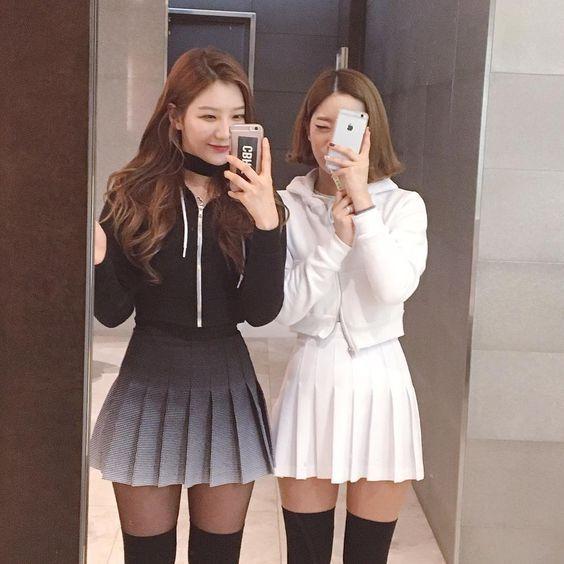 9ebcbfabc 15 Chicas a las que les puedes copiar su look con falda skater en ...