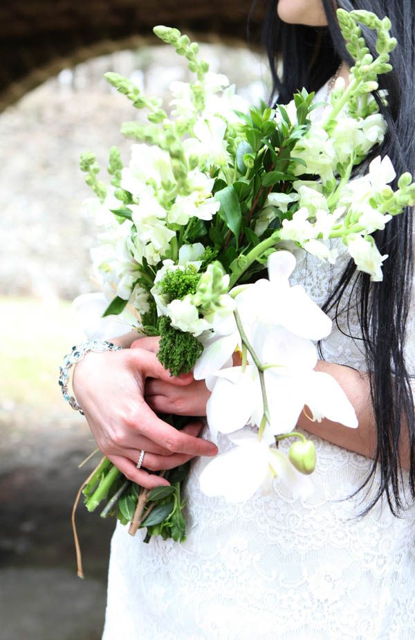 Bouquet Sposa Zagara.Simple But Lovely Bouquet Ramos Bodas Y Eventos