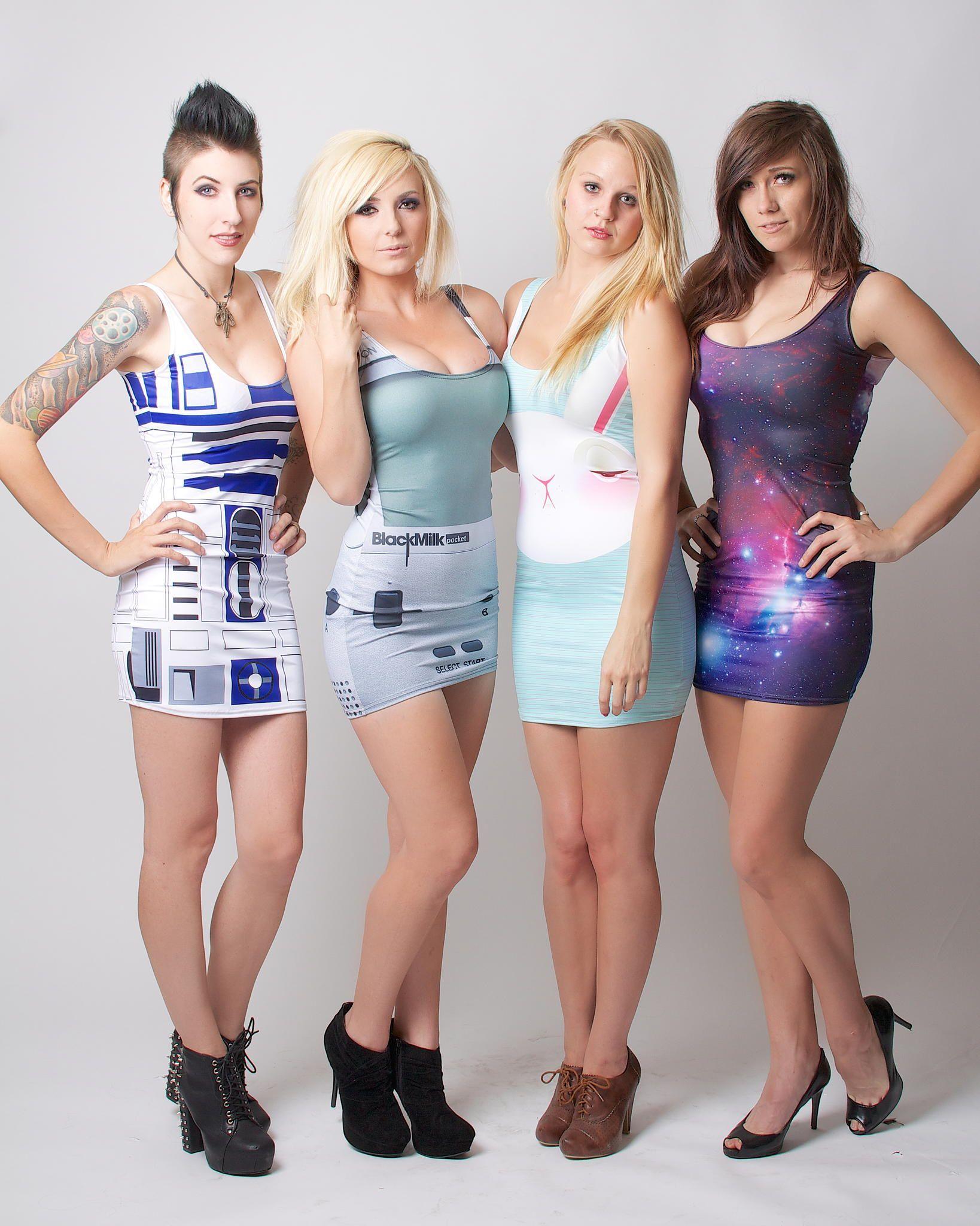 Models: (left to right) Anna Von Winter, Jessica Nigri ...